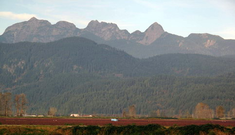 Golden Ears, Alouette Mtns and UBC Research Forest